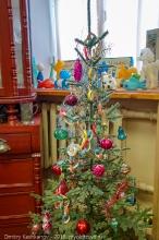 Старая новогодняя елка. Старые елочные игрушки времен СССР