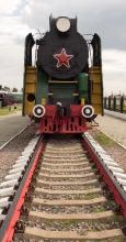 Паровоз СУ-253-33. Фото из музея паровозов