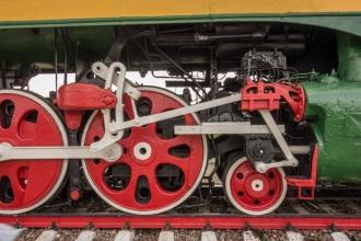 Колеса скоростного паровоза П36-0071