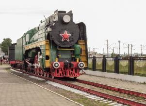 Скоростной пассажирский паровоз П36-0071. Фото