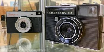 Пленочные фотоаппараты Чайка 3 и Смена 8М