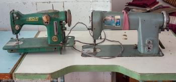 Старые швейные машинки
