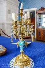 Старинный канделябр. Иркутский музей декабристов
