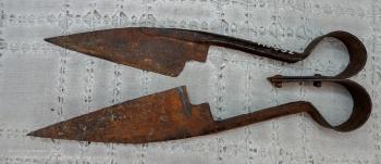 Уникальные старинные ножницы