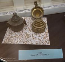 Гири для весов. Ейский краеведческий музей