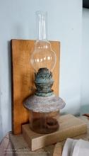Старая керосиновая лампа. Ейский краеведческий музей