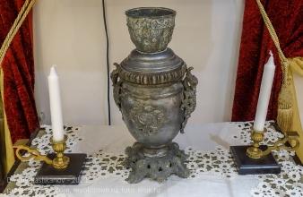 Старинная лампа. Дзержинский краеведческий музей
