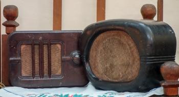 Старые громкоговорители для радиотрансляционной сети