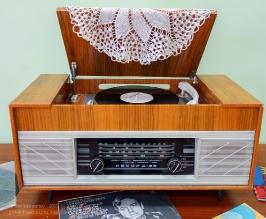 Радиола Рекорд-66 образца 1966 года