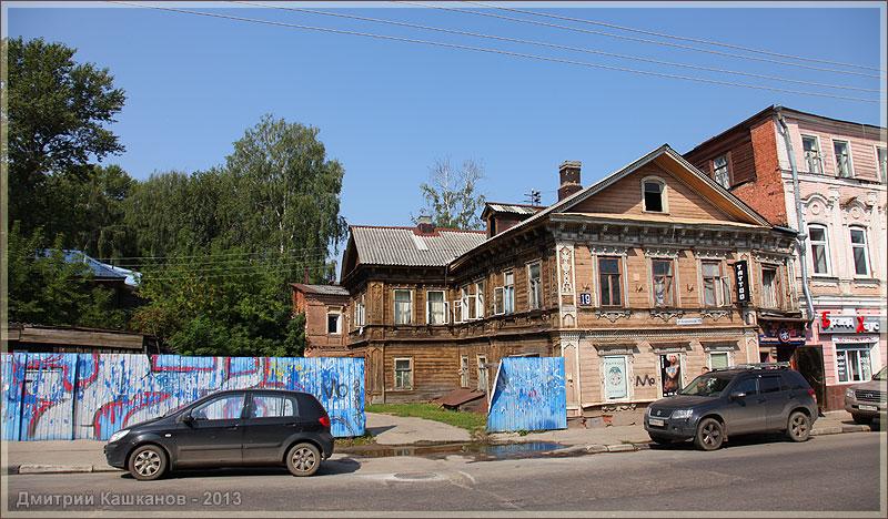 Деревянные дома в нижнем новгороде фото